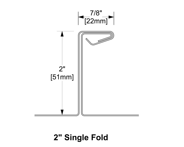 2 Single Fold
