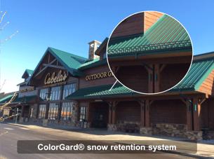 S-5!® ColorGard® snow retention system