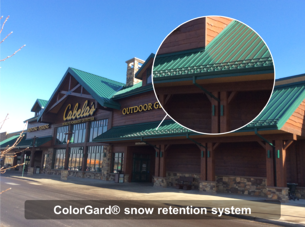 S-5!® ColorGard® snow retention system