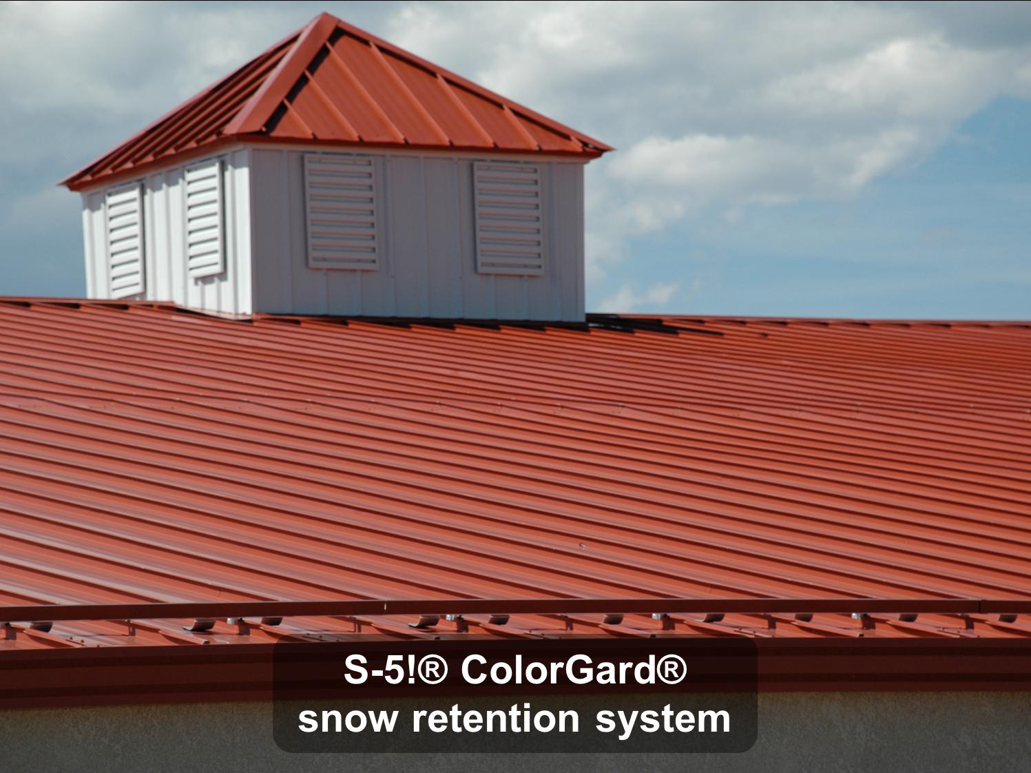 ColorGard® snow retention system-1