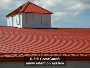 ColorGard® snow retention system-1