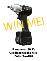 S-5! Panasonic Cordless Mechanical Pulse Tool IRE Giveaway-3