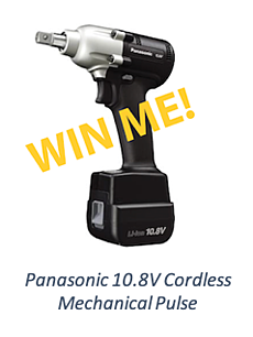 S-5! Panasonic Cordless Mechanical Pulse Tool IRE Giveaway