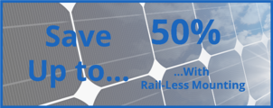 S-5! Save up to 50% with Rail-Less Mounting (Direct-Attach)
