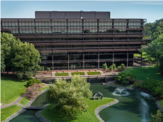 S-5!® - COR-TEN on the John Deere World Headquarters - Moline, Illinois  (Image Source- John Deere Website)