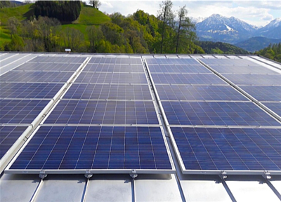 S-5!® - Solar PV array penetration-free attachment on a metal roof