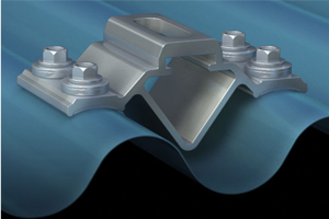 S-5!® CorruBracket™ 100T for Corrugated Metal Roofing Panels