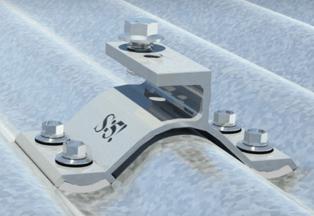 S-5!® CorruBracket™ for Corrugated Metal Roofing Panels