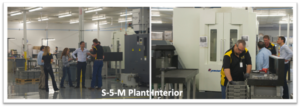 S-5!® Interior of Manufacturing Plant