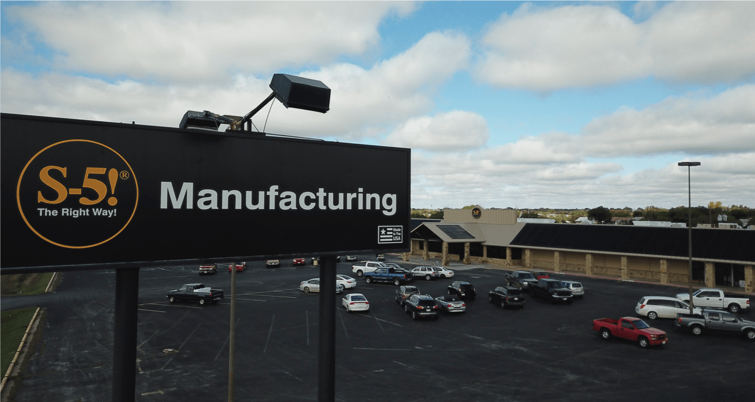 S-5!® Manufacturing Facility Exterior Shot-min