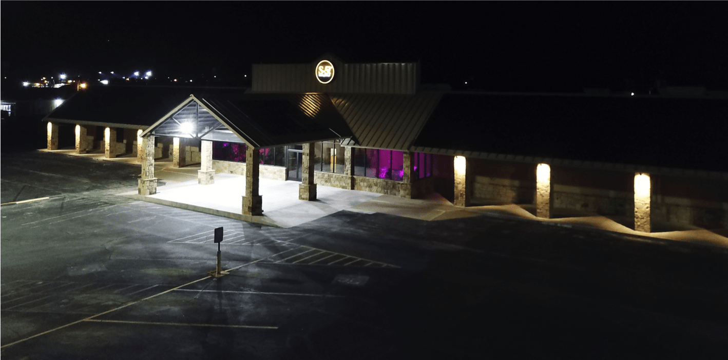 S-5!® Manufacturing Facility Night Exterior Photograph-min