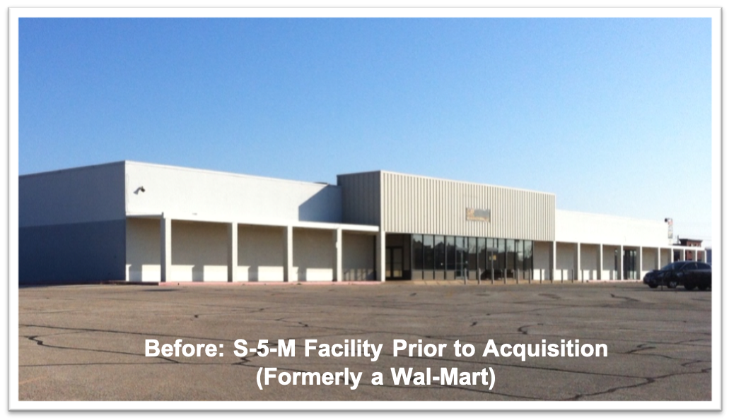 S-5!® Manufacturing Plant Before Extensive Renovations-1