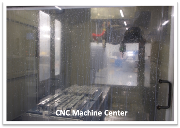 S-5!® Manufacturing Plant CNC Machine Center