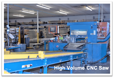 S-5!® Manufacturing Plant High Volume CNC Saw