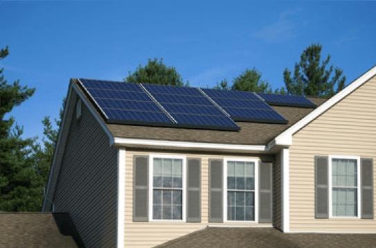 S-5!® Solar panel installation on an asphalt shingle roof