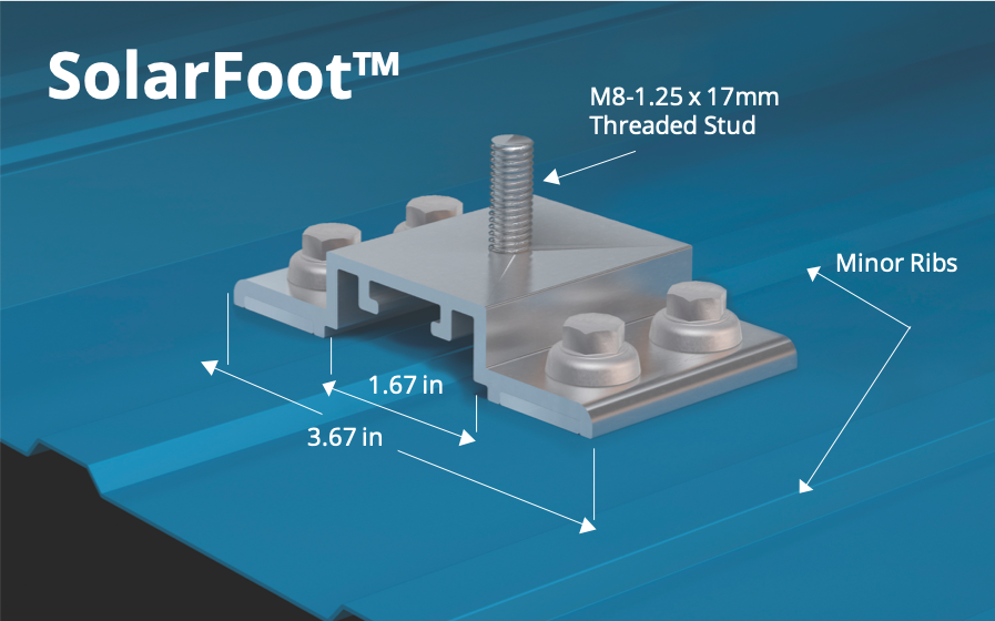 S-5!® SolarFoot™ Bracket