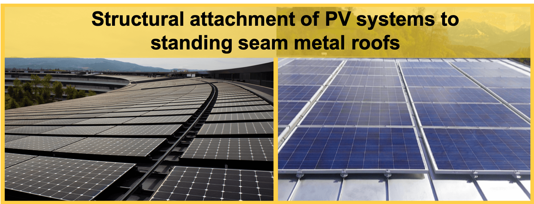 S-5!® Structural attachment of PV modules to standing seam metal roofs
