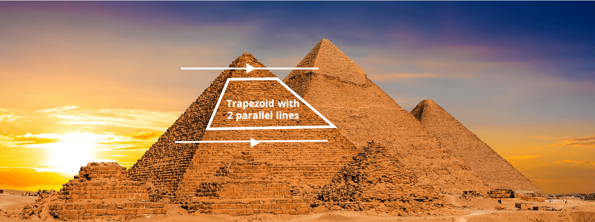 S-5!® Trapezoid Shape on Ancient Pyramids