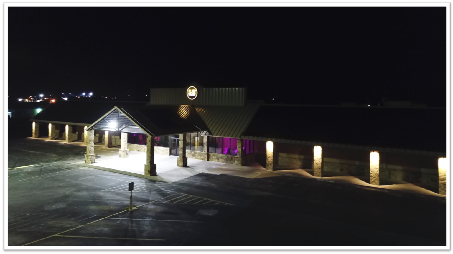 S-5-Manufacturing Exterior Night - Iowa Park Texas