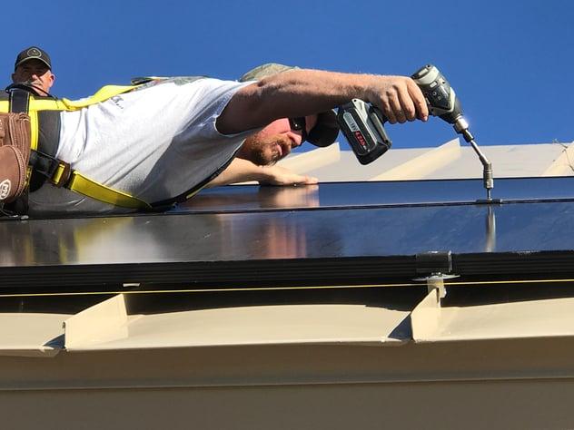 Shawn-Installation solar
