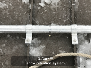 X-Gard snow retention system 2-1