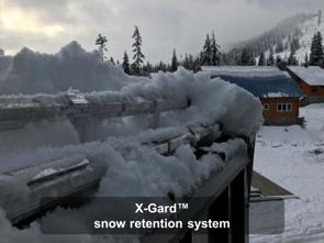 X-Gard™ snow retention system